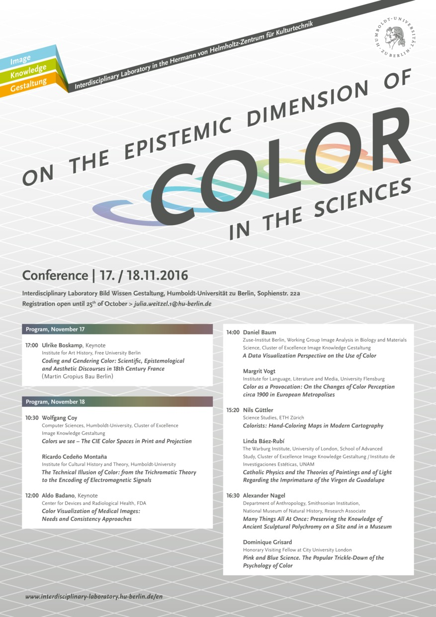 Conference Color in the Sciences